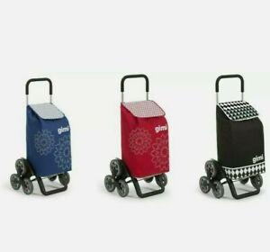 Carrello portaspesa GIMI TRIS 3 ruote Carrello per la spesa trolley resistente .