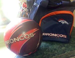 Image Is Loading Denver Broncos Nfl Viz A Ball Bowling