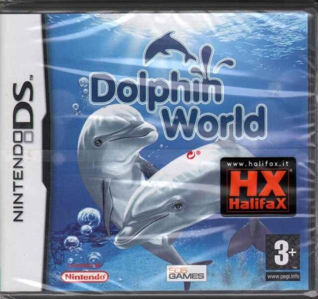 Dolphin World Videogioco Nintendo DS NDS Sigillato 8023171013640
