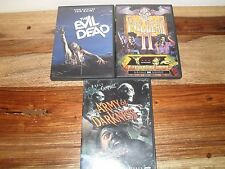 The Evil Dead/The Evil Dead 2/Army of Darkness (3-DVD, 1999, Special Edition)