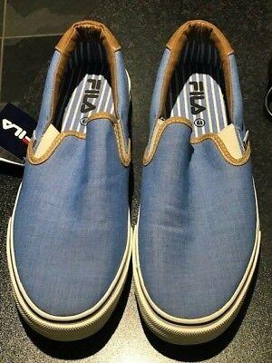 9bf6f5099586 Mens Fila Casual Deck Shoes