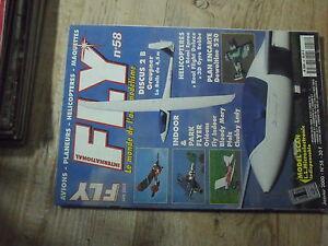 $$y Revue Fly International N°58 PLan encarte Dewoitine 520  Bonanza  3D Gyro