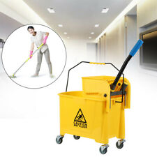 Samger 5 Gallon Mini Mop Bucket Withwringer Combo Commercial Rolling Cleaning Cart