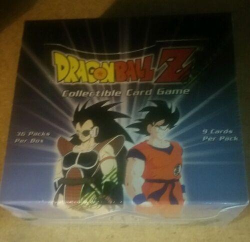 DBZ DragonBall Z Sayian Saga Unlimited 36ct.English Booster Box Sealed Rare L@@K