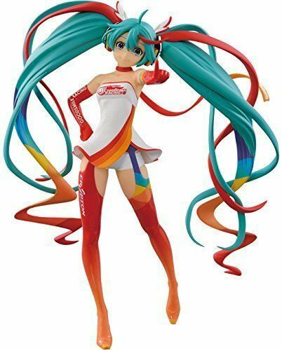 FIGURINE VOCALOID HATSUNE MIKU SQ QUALITY RACING VERSION GT PROJET 2016 ANIME