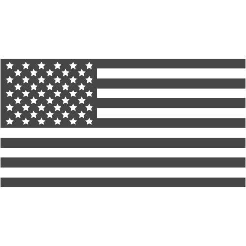 "United States US Flag 4/"" Decal Sticker Vinyl Stars Stripes Patriotic Country"