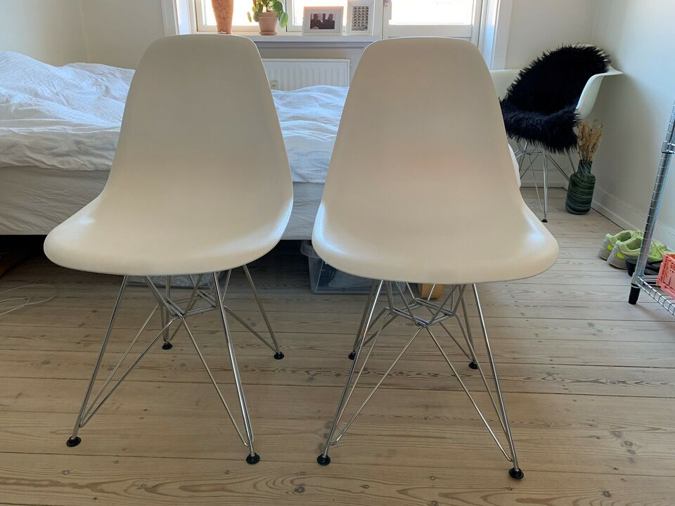 Spisebordsstol, Plastik/stål
