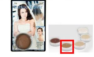 Mehron TC4 Tattoo Cover Up Medium Dark Color Professional Makeup ...