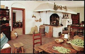 Details about WINSTON SALEM NC Old Salem Single Brothers House Kitchen  Addition Vtg Postcard