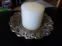 By Belk Home Decorative Candle Holder With Vanilla Candle