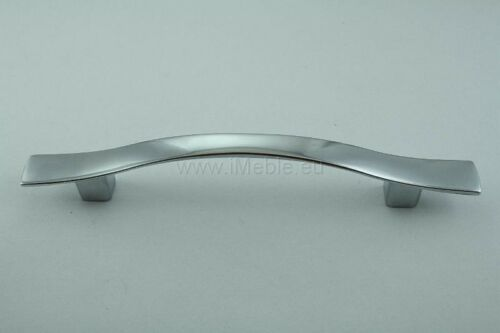 10 DESIGNER KITCHEN CABINET//CUPBOARD HANDLE CHROME 96MM