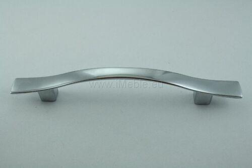 15 DESIGNER KITCHEN CABINET//CUPBOARD HANDLE CHROME 96MM