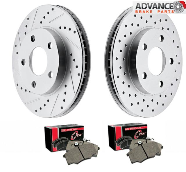 LEXUS RX300/RX330/RX350 1998-2003 AWD Brake Rotors+pads