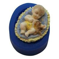 Boy Baby Silicone Mold (b188) First Impressions Molds Cake Decorating Fondant