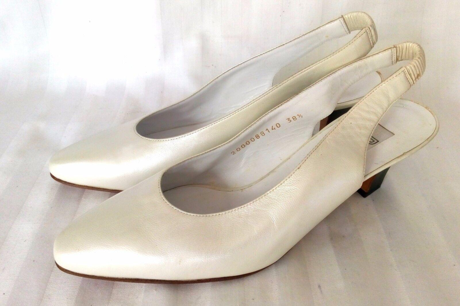 Baldinini Kitten heels pumps zapatos de de de novia Zapatos señora perlmutterColorn talla 38,5  liquidación hasta el 70%