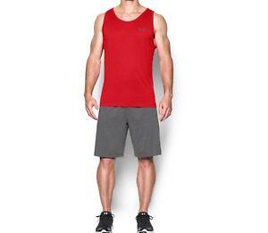 dea883cd329214 Under Armour 1242793 Men s Tank Top UA Tech Athletic Sleeveless Gym ...