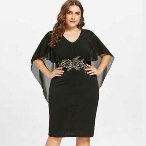 Details About Vestidos De Fiesta De Noche Cortos Tallas Grandes Elegantes Plus Size