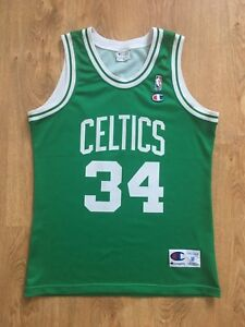new style 57d63 2010c Details about NBA Boston Celtics Basketball Jersey Champion Paul Pierce #34  Size M
