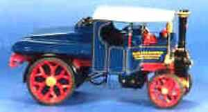 Foden D steam truck. Authentic model White metal kit to assemble and paint.