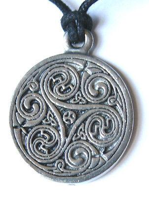 Keltischer Astrologie Anhänger Saille