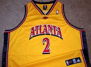 0816e87f086d Image is loading VTG-AUTHENTIC-JOE-JOHNSON-ATLANTA-HAWKS-NBA-ADIDAS- · RARE  New York Knicks Michael Sweetney Basketball Jersey ...