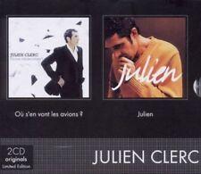 JULIEN CLERC - JULIEN/OU S'EN VONT LES AVIONS? NEW CD