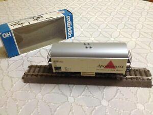 Marklin-1-87-Ho-4426-Refrigerator-Wagon-Advertising-Car-Apollinaris