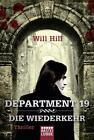 Department 19 - Die Wiederkehr von Will Hill (2015, Taschenbuch)