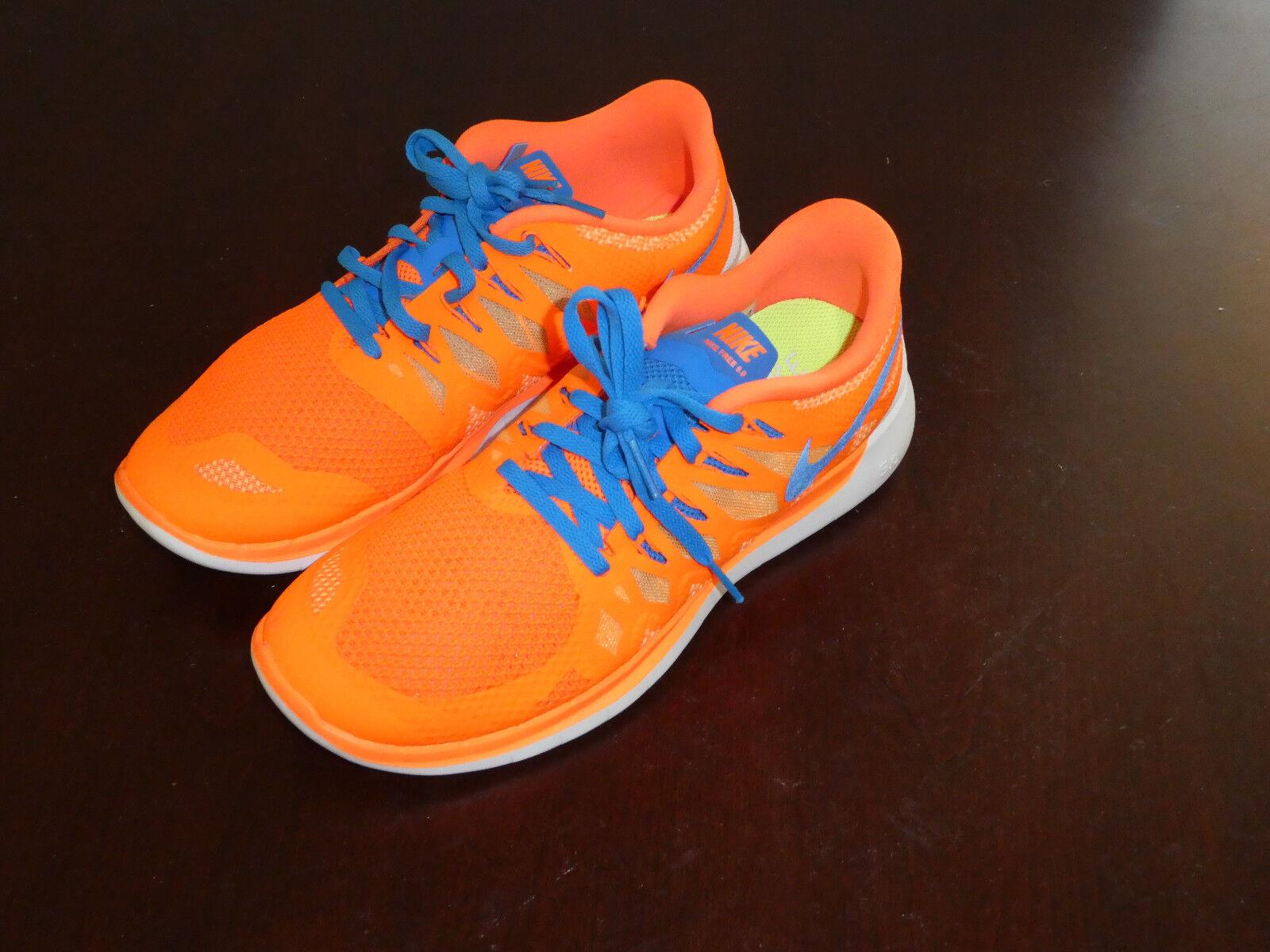 Nike Free 5.0 shoes sneakers orange new 642198 801