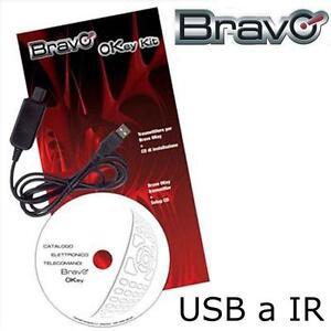KIT DI PROGRAMMAZIONE USB//IR PER TELECOMANDI TECHNO 3