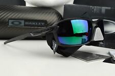 NEW Oakley Carbon Shift Sunglasses Matte Black Jade Iridium OO9302-07 Sunglasses
