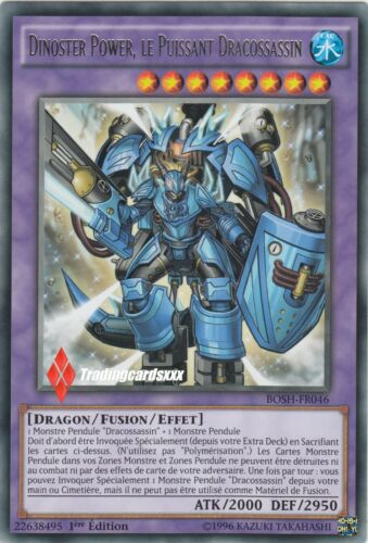 BOSH-FR046 2nd le Puissant Dracossassin ♦Yu-Gi-Oh!♦ Dinoster Power VF//RARE