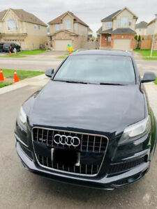 Audi Q7 Prestige black, 7 seater for sale
