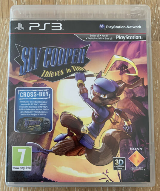 Sly Cooper Thieves in Time ps3 Playstation 3 Videospiel sehr guter Zustand