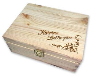 Teebox-mit-Name-graviert-Holzbox-Gravur-Schatztruhe-Holz-Geschenk-Weihnachten