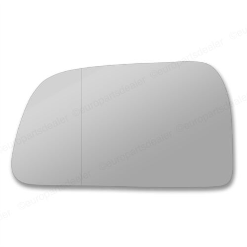 Passenger Side wing door mirror glass Hyundai Tucson 04-09 Stick On Wide Angle