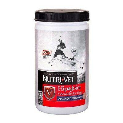 Hip & Joint Advanced Strength for Large Dogs 300 ct by Nutri- Vet