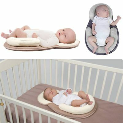 Almohada Para Bebe Seguridad De Recien Nacido Reductor de Movimientos En La Cuna