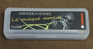 Harmonica-diatonique-Hohner-034-Blues-Band-034-en-Do-C-Neuf-Sommier-resine-facile