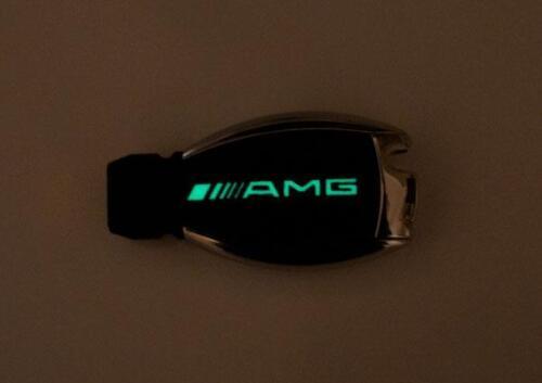 Lueur dans l/'obscurité MERCEDES E W211 W212 W207 AMG BRABUS fibre de carbone autocollant clé