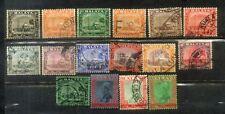 1935  Malaya Malaysia Selangor 17  Old Stamps Up to $5
