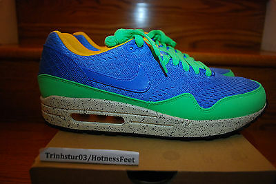 Nike Air Max 1 EM Beaches of Rio QS BLITZ BLUE GREEN 554718 443 Men Sizes