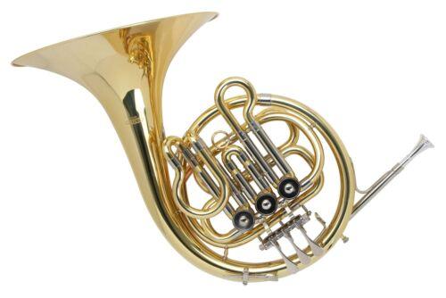 Kinder B-Waldhorn Schüler Links Horn Brass Blasinstrument Messing Leicht Koffer