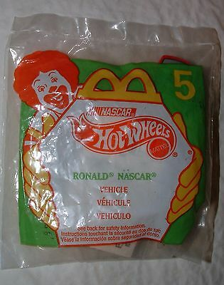 1998 Hot Wheels McDonalds #5 Happy Meal NASCAR Red 94 Car Sealed