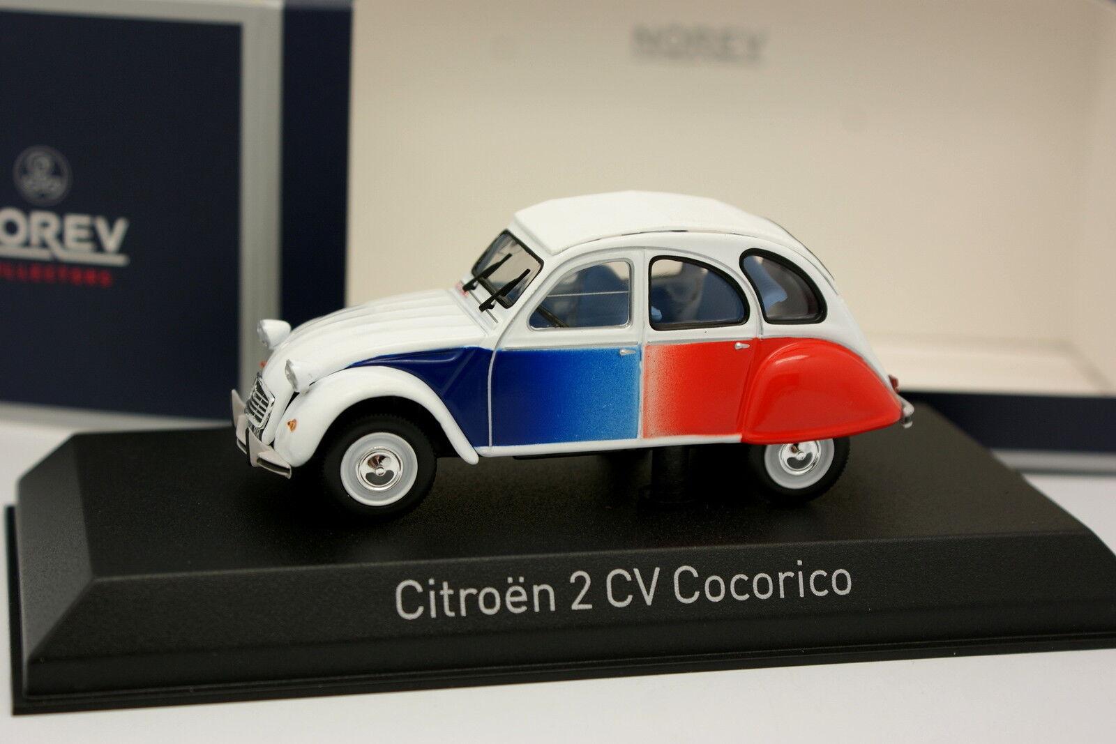 Norev 1 43 - Citroen 2CV Cocorico 1986