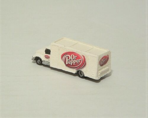 Dr Pepper beverage delivery truck
