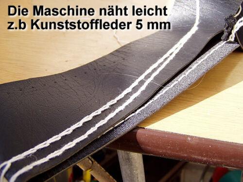 Keilriemen 5000m Garn Greifer € Tragbare SACKNÄHMASCHINE nur 106, 20 Nadel