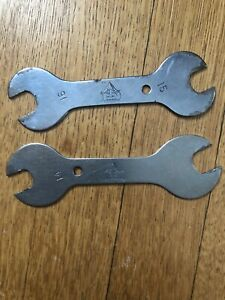 PARK TOOL SCW-13--14--15--17 BICYCLE HUB CONE WRENCHES TOOL KIT