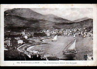 BANYULS-sur-MER (66) Retour des BARQUES & VILLAS en 1931