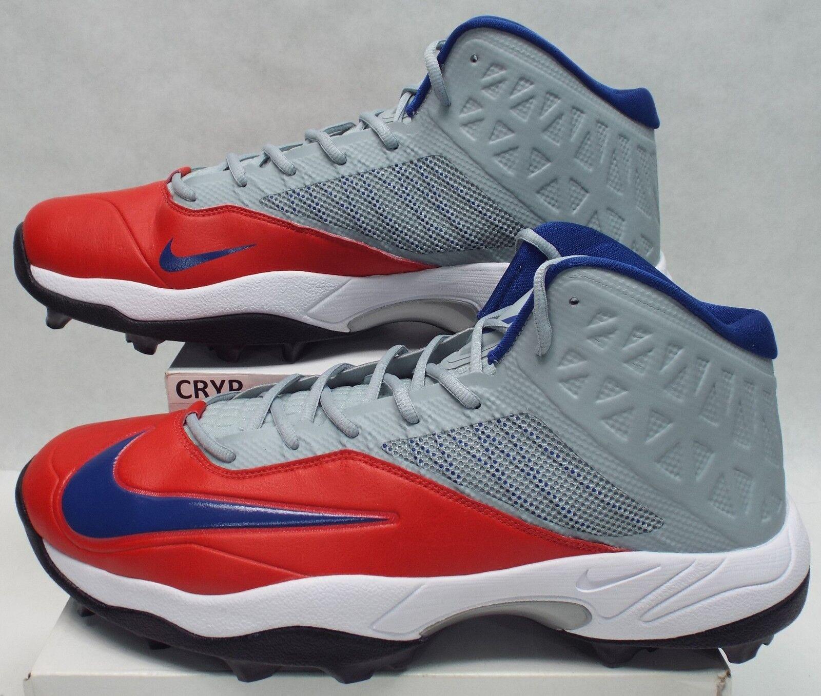 New Mens 17 NIKE Zoom Code Elite 3 4 Shark Cleats shoes  105 618140-021